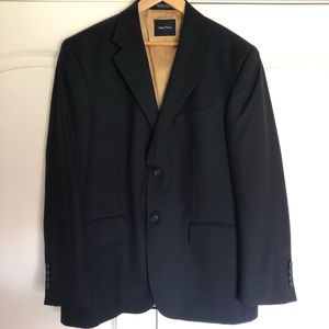 Timeless and classic men's navy blazer, 40S